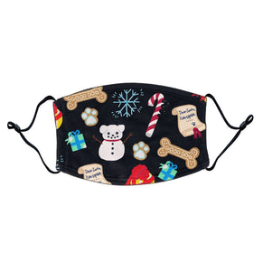 Xmas Lab Pattern | Adjustable Face Mask