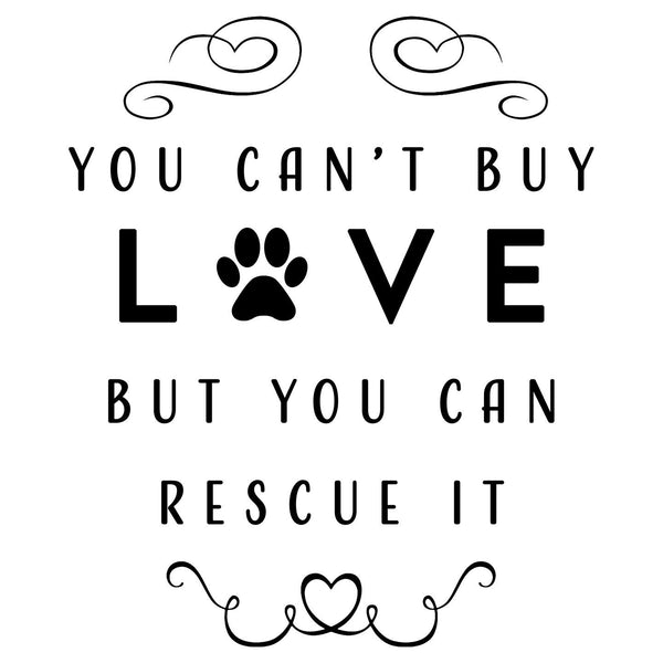 Can Rescue Love - Women's V-Neck T-Shirt