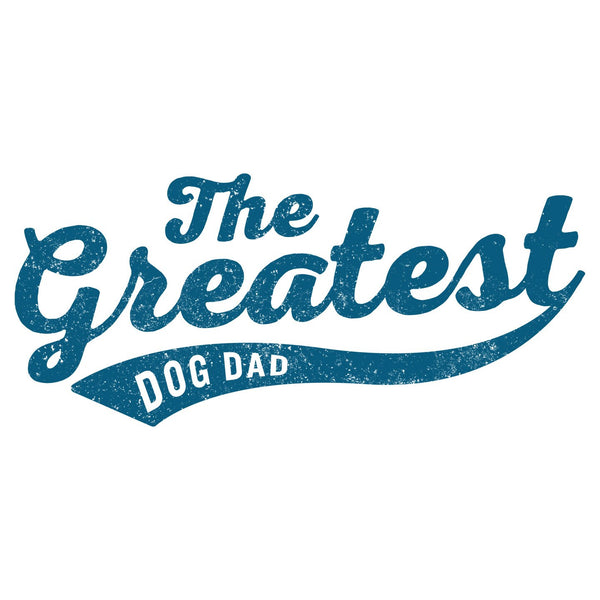 Sport Script - Greatest Dog Dad - Adult Unisex Hoodie Sweatshirt