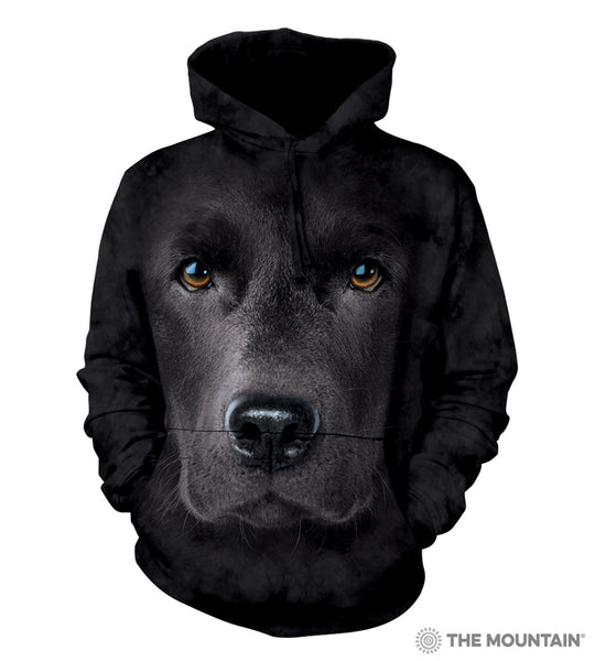 Black Lab - Adult Unisex Hoodie Sweatshirt