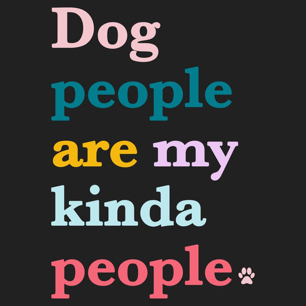 Dog People Are My Kind Of People - Women's V-Neck Long Sleeve T-Shirt