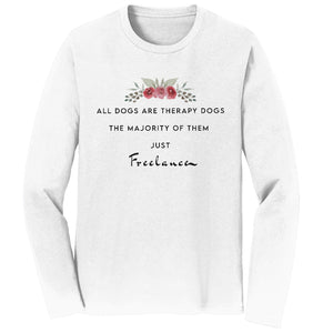 Therapy Dogs Freelance - Adult Unisex Long Sleeve T-Shirt