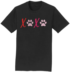 XOXO Dog Paws Tee Shirt