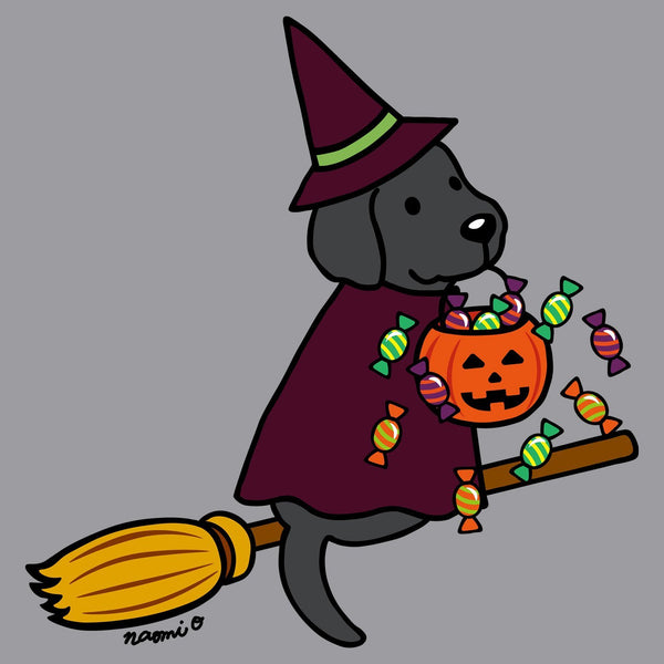 Black Lab Witch - Kids' Unisex Hoodie Sweatshirt