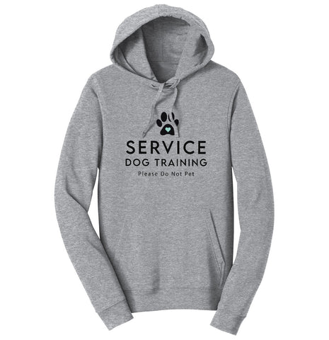Service Dog Training - Adult Unisex Hoodie Sweatshirt