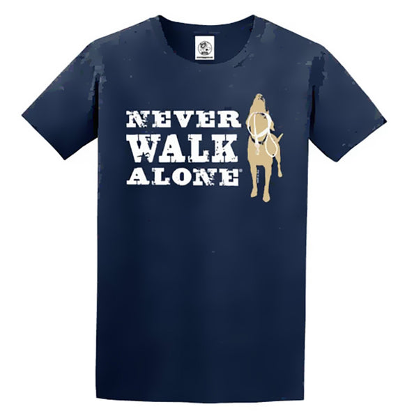 Never Walk Alone - Adult Unisex T-Shirt