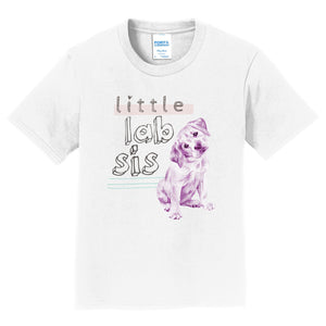 Little Lab Sis - Kids' Unisex T-Shirt