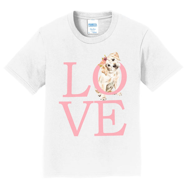 Big Love Lab Puppy - Kids' Unisex T-Shirt