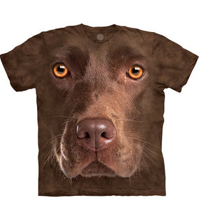 The Mountain Chocolate Lab - Adult Unisex T-Shirt