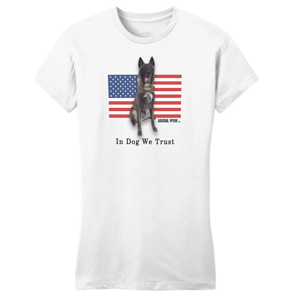 Conan The Dog Hero Women's Shirt Belgian Malinois