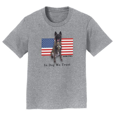 Conan The Dog Hero Kid's Child Shirt Belgian Malinois