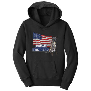Conan The Hero - Kids' Unisex Hoodie Sweatshirt