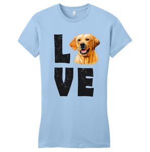 LOVE - Women's Fitted T-Shirt