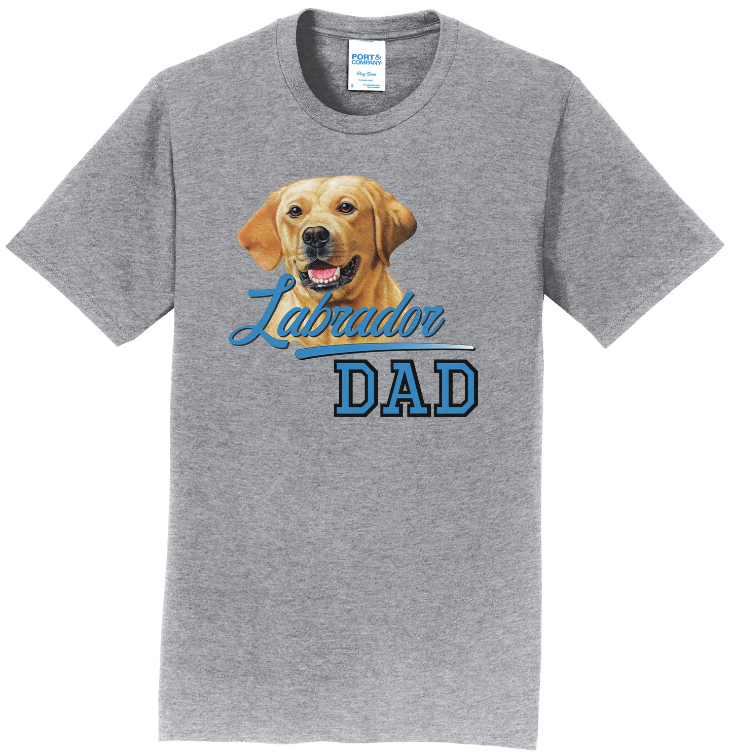 Labrador Dad - Adult Unisex T-Shirt