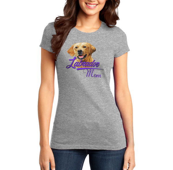 Labrador Mom - Women's Fitted T-Shirt