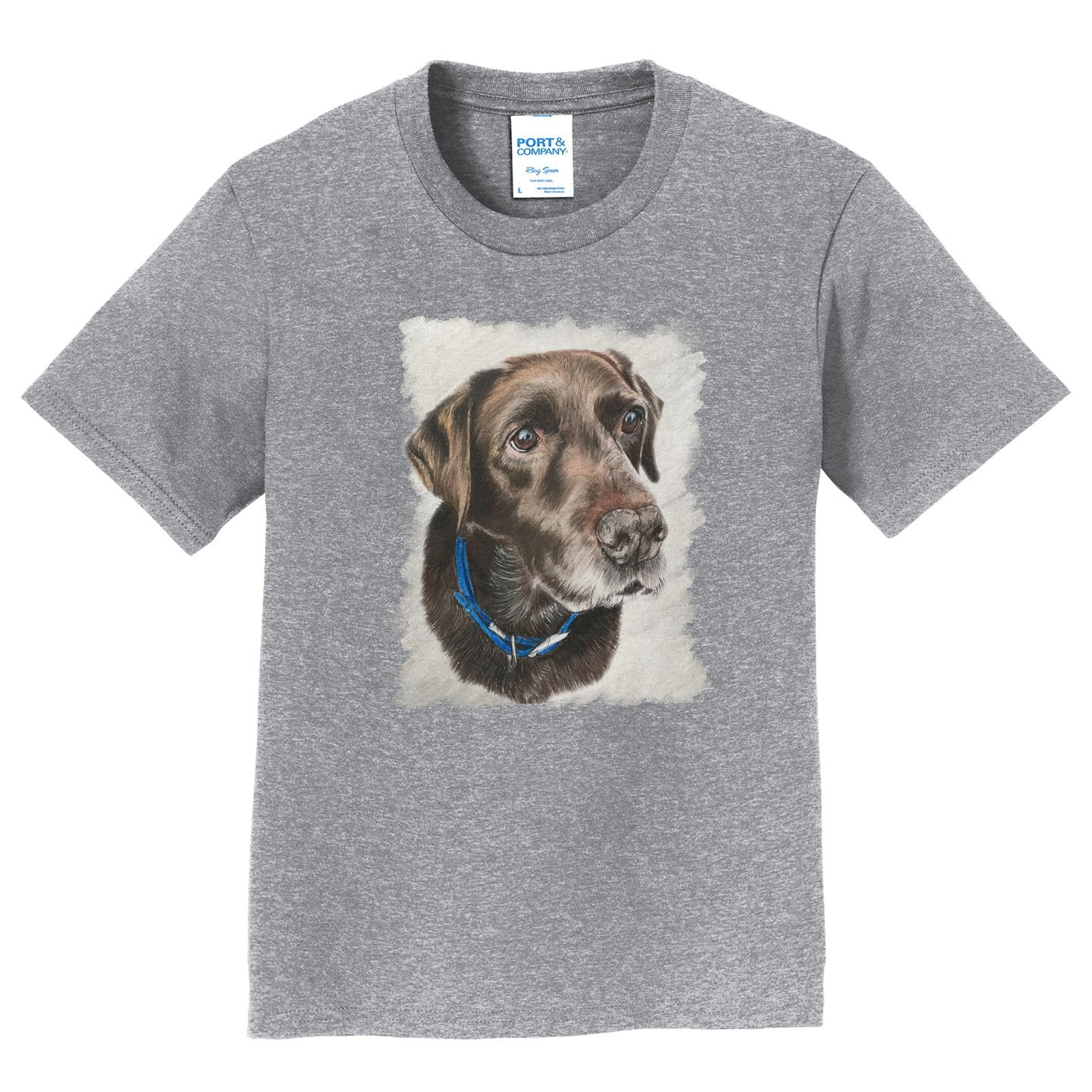 Charlie the Chocolate Lab - Kids' Unisex T-Shirt