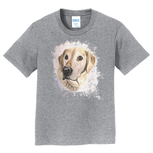 Golden Labrador Portrait - Kids' Unisex T-Shirt