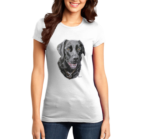 Labradolly Dog Face - Women's Fitted T-Shirt
