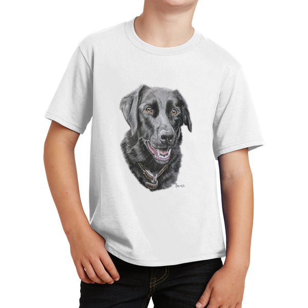 Labradolly Dog Face - Kids' Unisex T-Shirt