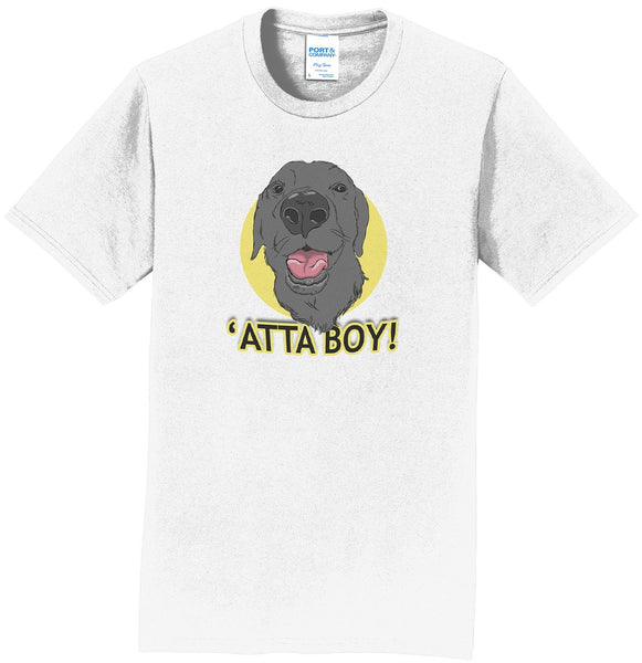 Atta Boy! - Black Lab - Adult Unisex T-Shirt