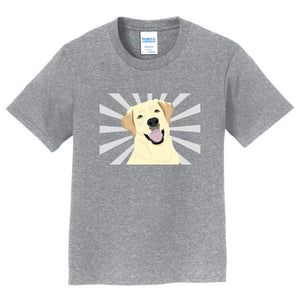 Happy Labrador Glow - Kids' Unisex T-Shirt