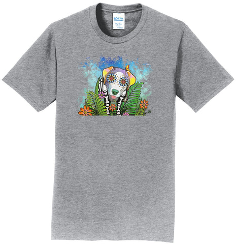 Skeleton Lab Under Starry Night - Adult Unisex T-Shirt