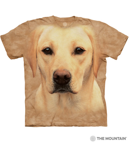 The Mountain Yellow Lab - Adult Unisex T-Shirt