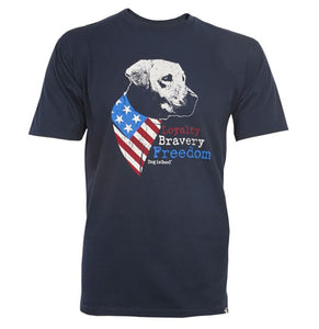 Freedom Dog - Dog Is Good - T-Shirt