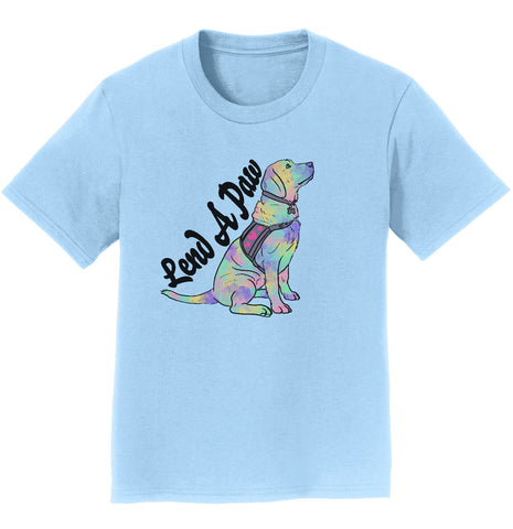 Animal Pride - Lend a Paw Labrador Retriever - Kids' Unisex T-Shirt