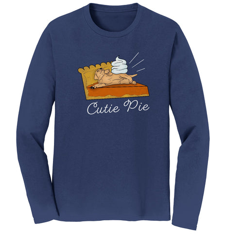 Labradors.com | Cutie Pie Yellow Lab - Adult Long Sleeve Shirt