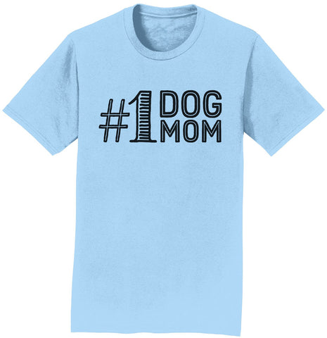 #1 Dog Mom T-Shirt