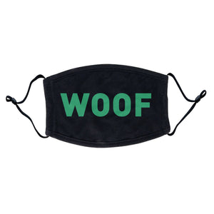Labradors.com - Woof Text - Adult Adjustable Face Mask