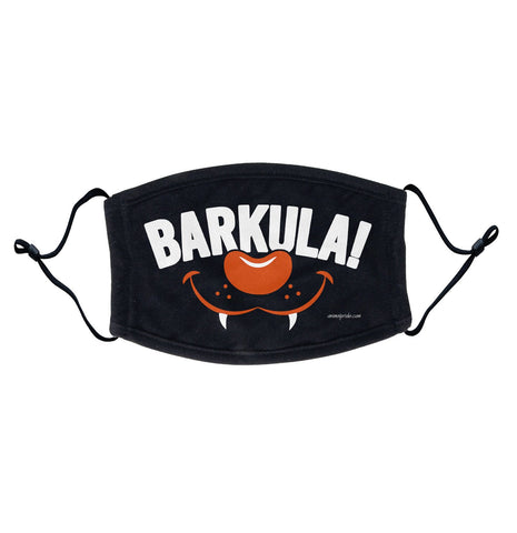 Barkula - Dracula Labrador Halloween Face Mask - Breathable, Adjustable