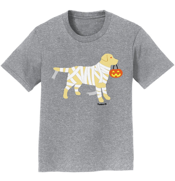 Yellow Lab Mummy Trick or Treater - Kids' Unisex T-Shirt