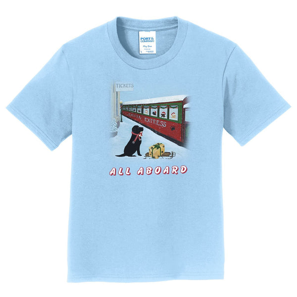 All Aboard Santa Express - Kids' Unisex T-Shirt