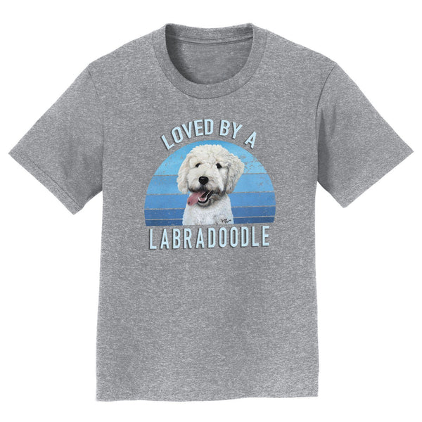 Loved By A Labradoodle - Kids' Unisex T-Shirt