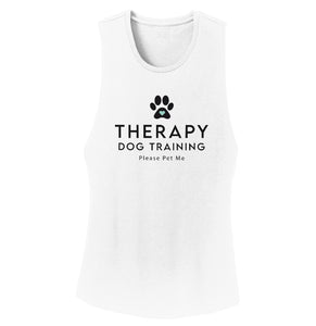 Therapy Dog Training - Women's Tank Top