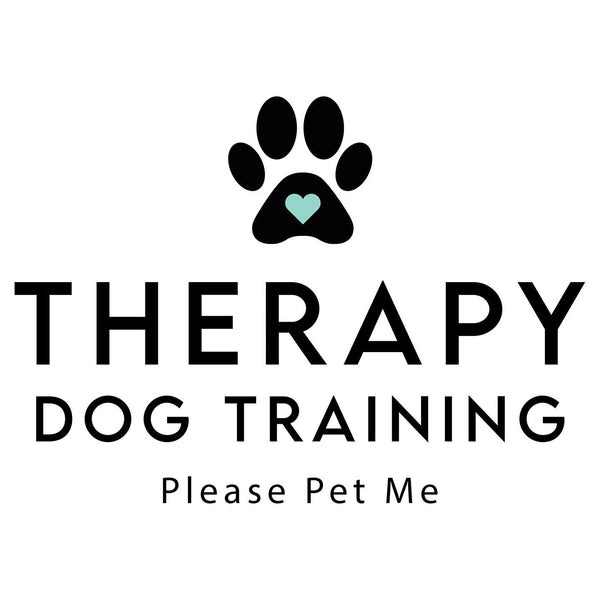 Therapy Dog Training - Women's V-Neck Long Sleeve T-Shirt