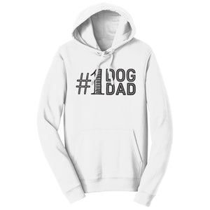 #1 Dog Dad - Adult Unisex Hoodie Sweatshirt - Labradors.com