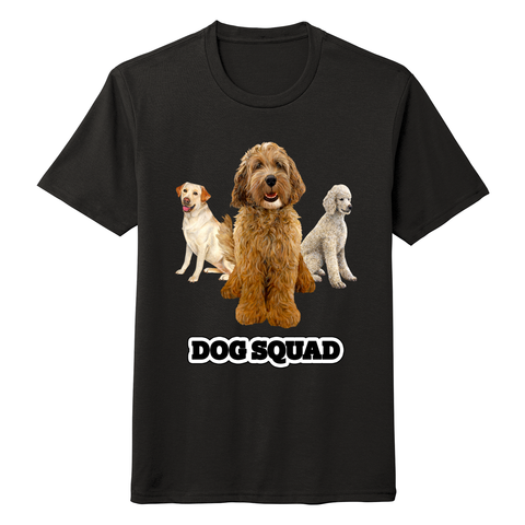 Dog Squad - Adult Tri-Blend T-Shirt