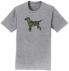 Woodland Camouflage Silhouette - Adult Unisex T-Shirt