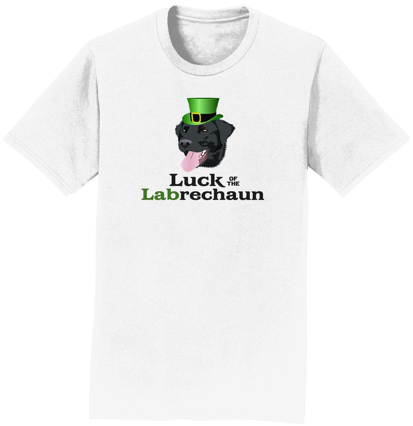 Luck of the Labrechaun - Adult Unisex T-Shirt