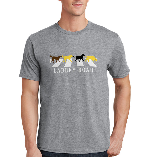 Labbey Road - Adult Unisex T-Shirt