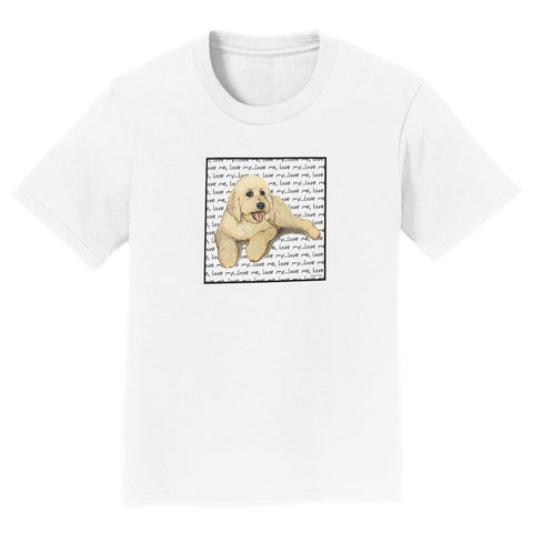 Goldendoodle Love - Kids' Unisex T-Shirt