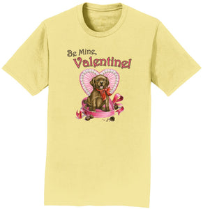 Valentine's Day Puppy - Adult Unisex T-Shirt