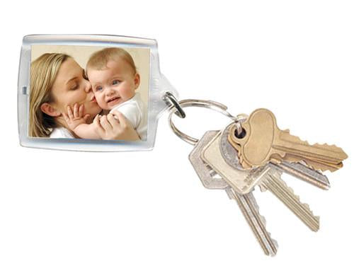 Retangle Photo Keyring 45x62mm