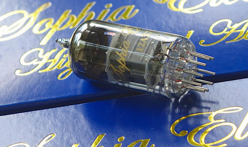 Sophia Electric 12AX7 Tubes: Interchangeable with Telefunken ECC 803S/European ECC 83