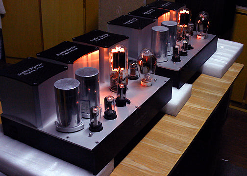 Sophia Electric 845 Single Ended Mono-Block Amplifiers