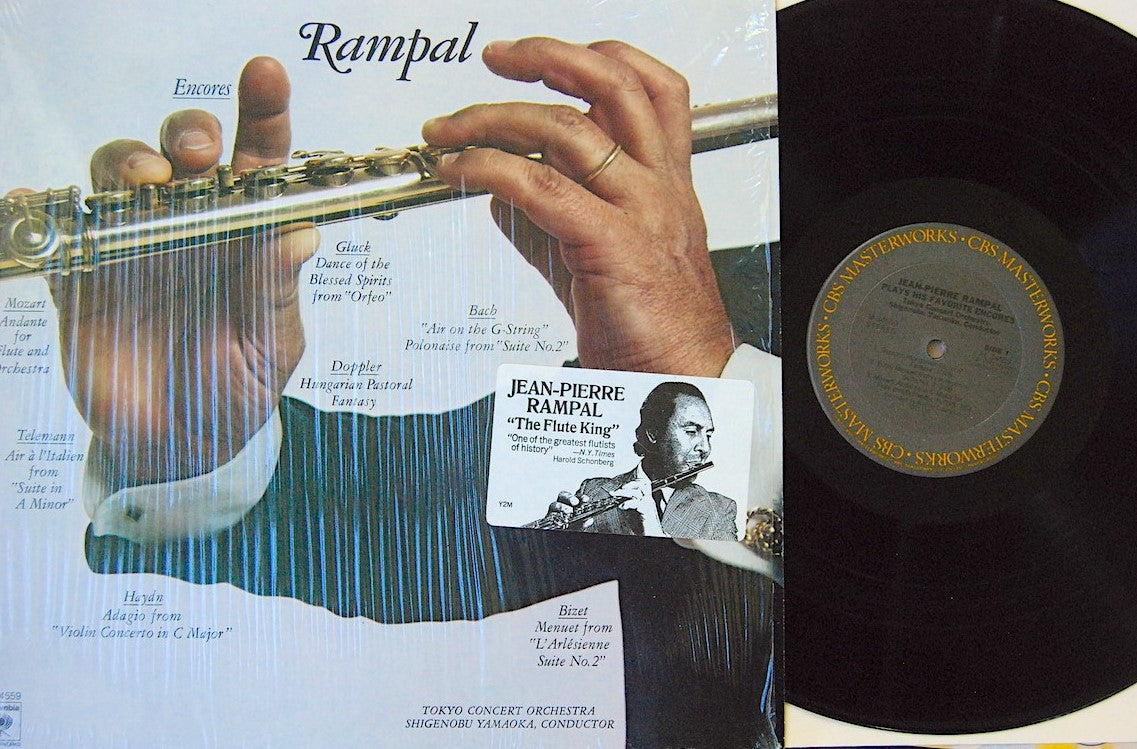 CBS003: Rampal -- The Flute King