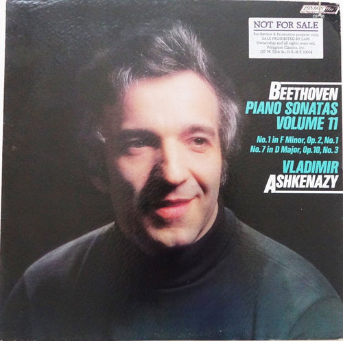 LON005: Vladimir Ashkenazy -- Beethoven Sonatas No. 1 and 7